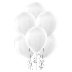 Kikajoy - Kikajoy Pastel Beyaz Balon 12li