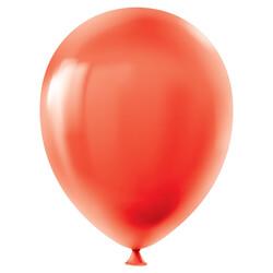 Kikajoy - Kikajoy Pastel Kırmızı Balon 100lü