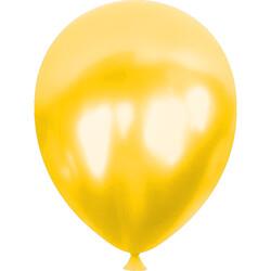 Kikajoy - Kikajoy Metalik Sarı Balon 100lü