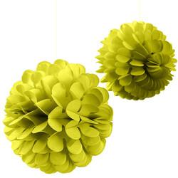 Kikajoy - Kikajoy Sarı Petek Dekor Süs Seti 2'li