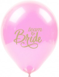 Kikajoy Team Bride Baskılı Pembe Balon 10'lu - Thumbnail