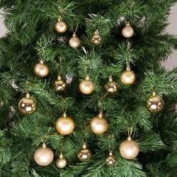 - Kikajoy Yılbaşı Çam Ağacı Süsü Altın Set 36'lı