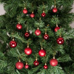 - Kikajoy Yılbaşı Çam Ağacı Süsü Kırmızı Set 36'lı
