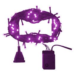 - Kikajoy Yılbaşı Fuşya Led Işık Eklemeli 80 Ampul 8 m