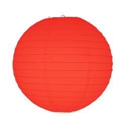 - Kırmızı Kağıt Fener 30 cm