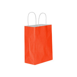 Kika - Kırmızı Kraft Hediye Poşeti 15x20cm