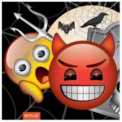 - Korku Emoji Kağıt Peçete 33x33 cm 20'li