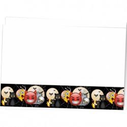 - Korku Emoji Plastik Masa Örtüsü 120x180 cm