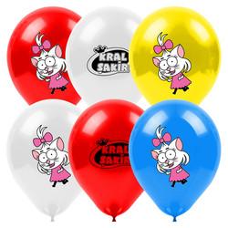 - Kral Şakir Canan Lisanslı Balon 8'li