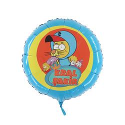 - Kral Şakir Lisanslı Folyo Balon 46 cm