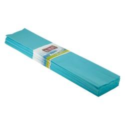 Kika - Krapon Kağıdı 10lu 50x200cm -Açık Mavi-