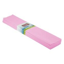 Kika - Krapon Kağıdı 10lu 50x200cm -Açık Pembe-