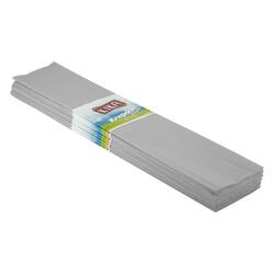 - Gri Krapon Kağıdı 10lu 50x200 Cm