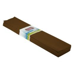 Kika - Krapon Kağıdı 10lu 50x200cm -Kahve-