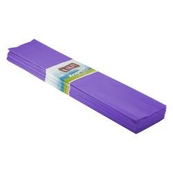 Kika - Krapon Kağıdı 10lu 50x200cm -Mor-