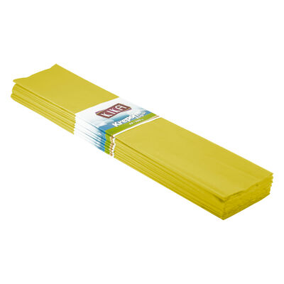 Sarı Krapon Kağıdı 10lu 50x200 Cm