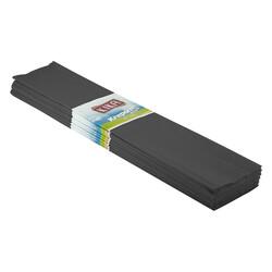 - Siyah Krapon Kağıdı 10lu 50x200 Cm