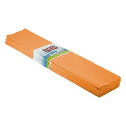 Kika - Krapon Kağıdı 10lu 50x200cm -Turuncu-