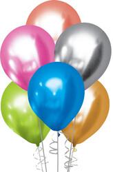 Kikajoy - Kikajoy Krom Karışık Balon 13cm 50'li