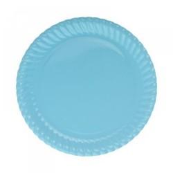 - Mavi Karton Tabak 23 cm 8'li
