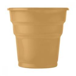 - Altın Plastik Meşrubat Bardağı 10'lu