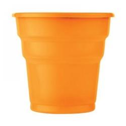 - Turuncu Plastik Meşrubat Bardağı 25'li