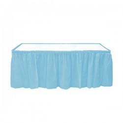 - Mavi Plastik Masa Eteği 75x426 cm