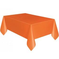 Kikajoy - Turuncu Plastik Masa Örtüsü 137x270 cm
