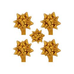 - Kutup Yıldızı Hediye Paketi Süsü Mat Metalik 24 Ad
