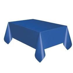 Kikajoy - Lacivert Plastik Masa Örtüsü 137x270 cm