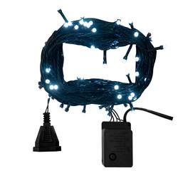 - Kikajoy Yılbaşı Beyaz Led Işık Eklemeli 80 Ampul 8 m