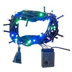 - Kikajoy Yılbaşı Renkli Led Işık Eklemeli 80 Ampul 8 m