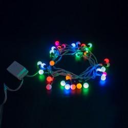 - Karışık Renkli Leva Top Led Işık