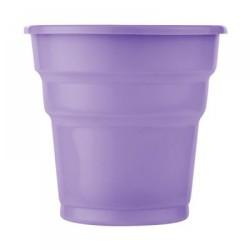 - Lila Plastik Meşrubat Bardağı 25'li