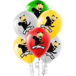 Kikajoy - Miraculous Super Heroez Team Lisanslı Balon 12