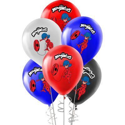 Miraculous Super Heroez Team Lisanslı Balon 12