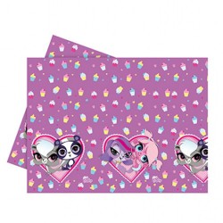 - Littlest Pet Shop Plastik Masa Örtüsü 120x180 cm