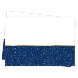 - Parti Zamanı Lacivert Plastik Masa Örtüsü 120x180cm