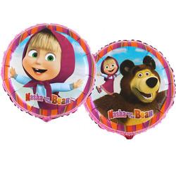 - Maşa ve Koca Ayı Grabo Folyo Balon 45 cm