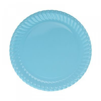 Mavi Karton Tabak 23 cm