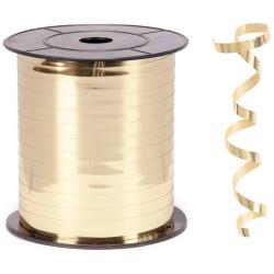 Kika - Metalik Altın Renk Rafya 8 mm x 200 m
