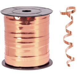 Kika - Metalik Bakır Renk Rafya 8 mm x 200 m