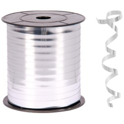 - Metalik Gümüş Renk Rafya 8 mm x 200 m