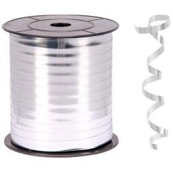 Kika - Metalik Gümüş Renk Rafya 8 mm x 200 m