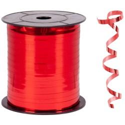 Kika - Metalik Kırmızı Renk Rafya 8 mm x 200 m