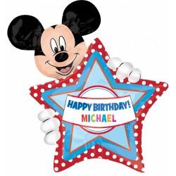 - Mickey SuperShape Kişiselleştirilebilir Folyo Balon 83 cm