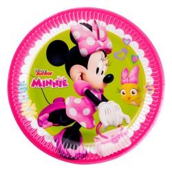 - Minnie Mutlu Arkadaşlar Karton Tabak 23cm
