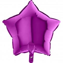 Grabo - Mor Yıldız Grabo Folyo Balon 18
