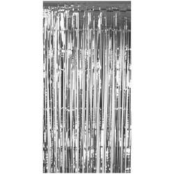 - Metalik Püsküllü Duvar Perdesi Gümüş