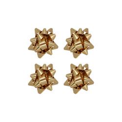 - No:2 Hediye Paketi Süsü Metalik Altın Renkli 100 Ad